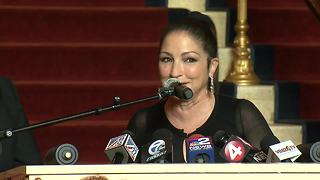 Gloria Estefan loves Buffalo - Video