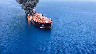 Tanker sinks in Gulf of Oman after attack