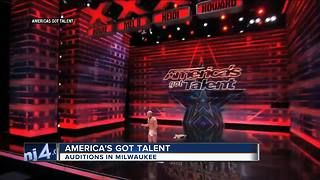 'America's Got Talent' holding open auditions in Milwaukee this December - Video