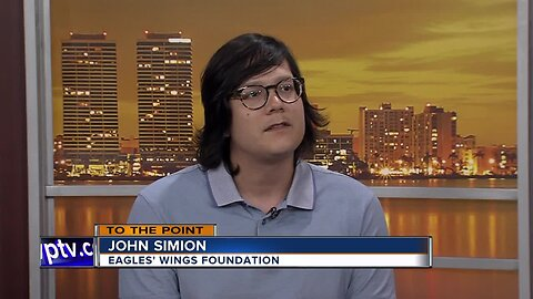 To The Point 9/15/19: John Simion with Eagles' Wings Foundation