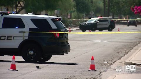 Mesa police shoot and kill suspect in stolen vehicle