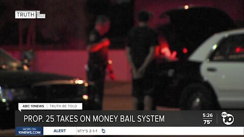 Truth be Told: Prop. 25 takes on money bail system