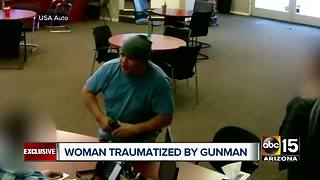 Woman who faced gunman suffering trauma - Video
