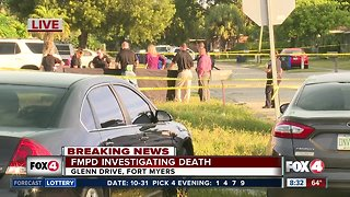 Death investigation in Fort Myers after man found dead near a neighborhood road