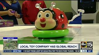 Arizona toy company reaches the world - Video