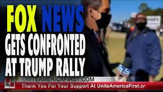 FOX NEWS GETS CONFRONTED AT TRUMP RALLY!