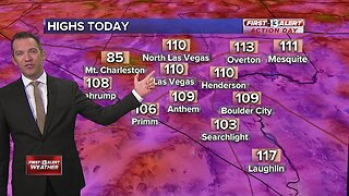 13 First Alert Las Vegas weather updated August 15 morning