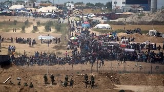 Deadly Gaza Protests Continue As US Embassy Opens In Jerusalem