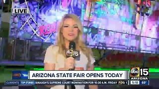 Arizona State Fair opens FRIDAY!