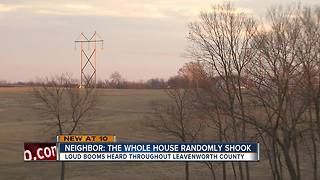 Leavenworth residents complain of loud 'booms' - Video