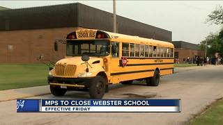 MPS plans to close Webster Secondary School, reassign students and teachers next week - Video