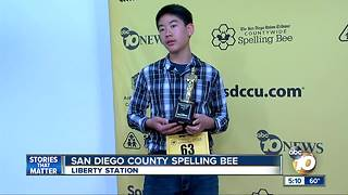 County Crowns new Spelling Bee Champ
