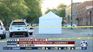 Homicide investigation underway near downtown Denver - Video