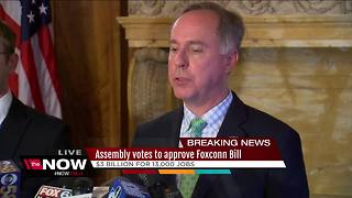 Foxconn bill passes State Assembly - Video