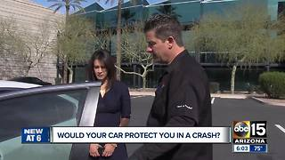 Would your car protect you in a crash? - Video