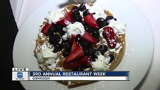 Restaurant week returns to Oshkosh