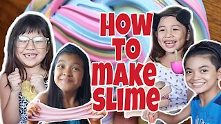 HOW TO MAKE SLIME / EASY GLUE SLIME TUTORIAL