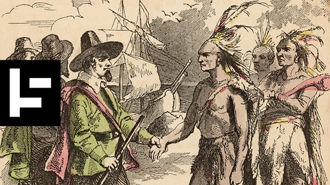 First Native Person to Meet British Who Came Ashore on the Mayflower Spoke English and Asked for a Beer