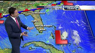 South Florida Wednesday afternoon forecast (8/9/17)