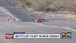 Bicyclist seriously hurt in Avondale crash - Video