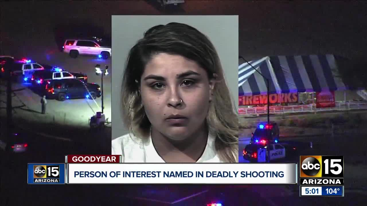 Goodyear police identify person of interest in fireworks stand shooting