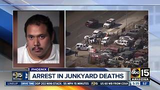 Police identify man accused of killing two men in south Phoenix - Video