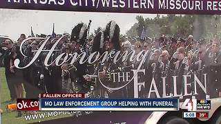 Missouri law enforcement group helping with Clinton officer's funeral - Video