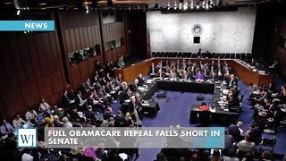 Full Obamacare Repeal Falls Short In Senate - Video