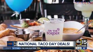 National Taco Day Deals - Video