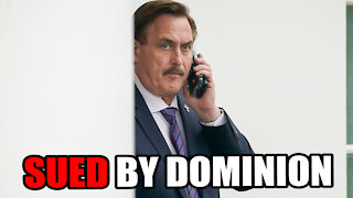 Dominion SUES MyPillow CEO, Mike Lindell, for $1.3 BILLION in Damages