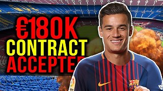 BREAKING: Philippe Coutinho Agrees To Join Barcelona?! | Transfer Talk - Video