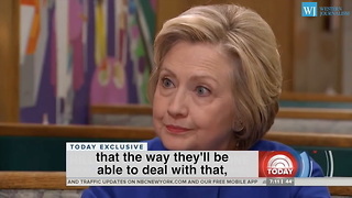 Hillary Clinton Mocks FBI Investigation - Me In Handcuffs Will Never Happen - Video