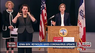 Iowa Gov. Reynolds Orders More Businesses to Close
