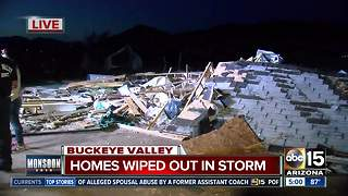 West Valley slammed by monsoon storms - Video