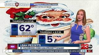 Freezing temperatures start our week - Video