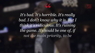 """Draymond Green Says NBA Referees Are """"Ruining The Game"""" - Video"""