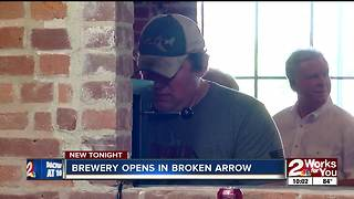 Broken Arrow Brewing Company opens Father's Day - Video