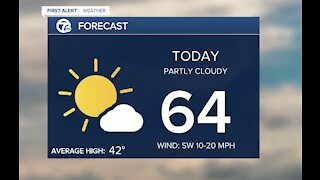 Metro Detroit Forecast: Feeling like spring today