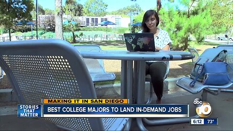Making It in San Diego: Best majors for in-demand jobs