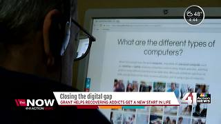 Grant helps people in recovery with computer training - Video