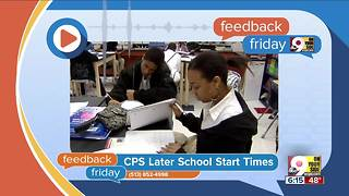 Feedback Friday: Should kids sleep in later? - Video