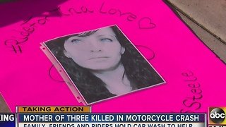 Fundraiser held for woman killed in Scottsdale motorcycle crash - Video