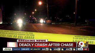 Springfield Township police chase ends with fatal crash in Carthage - Video
