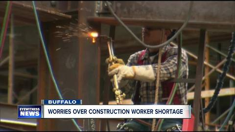 Worries over construction worker shortage grows