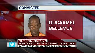 Man Convicted of Molesting Three Girls - Video