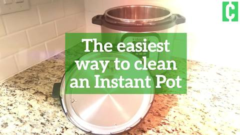 The easiest way to clean an Instant Pot
