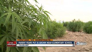 Parents worry about possible marijuana near school - Video