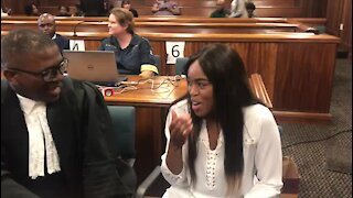 'We believe you' - supporters rally behind Cheryl Zondi at Omotoso trial (V3A)