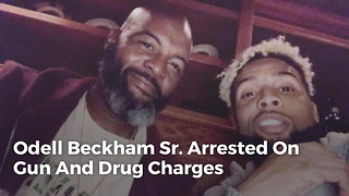 Odell Beckham Sr. Arrested On Gun And Drug Charges - Video