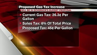 Gov. Whitmer to propose 45-cent increase in gas tax to fix Michigan roads
